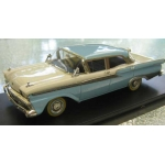 Trax 1959 Australian 4 door Ford Fairlane lt.blue/white 1/43 MB.